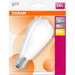 LED žiarovka OSRAM 4058075269811 230, E27, 7 W, teplá biela, A ++ (A ++ - E), elipsa, 1 ks