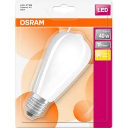 LED žiarovka OSRAM 4058075269798 230, E27, 5 W, teplá biela, A ++ (A ++ - E), elipsa, 1 ks