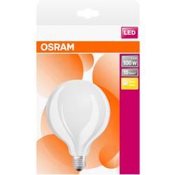 LED žiarovka OSRAM 4058075269897 230, E27, 10 W, teplá biela, A ++ (A ++ - E), tvar glóbusu, 1 ks