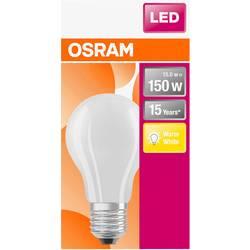 LED žiarovka OSRAM 4058075305014 230, E27, 15 W, teplá biela, A ++ (A ++ - E), tvar žiarovky, 1 ks