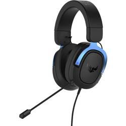 Asus TUF H3 herný headset jack 3,5 mm káblový cez uši čierna, modrá