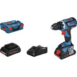 Aku vŕtací skrutkovač Bosch Professional GSR 18V-60 C 06019G110B, 18 V, 4.0 Ah, Li-Ion akumulátor