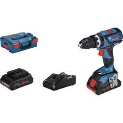 Aku príklepová vŕtačka Bosch Professional GSB 18V-60 C 06019G2109, + púzdro, + 2. akumulátor