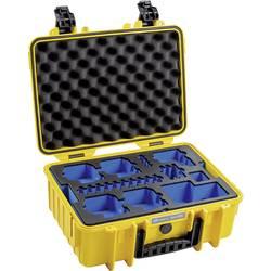 Outdoorový kufrík B & W outdoor.cases Typ 4000 4000/Y/GoPro8 Vhodné pre GoPro Hero 8