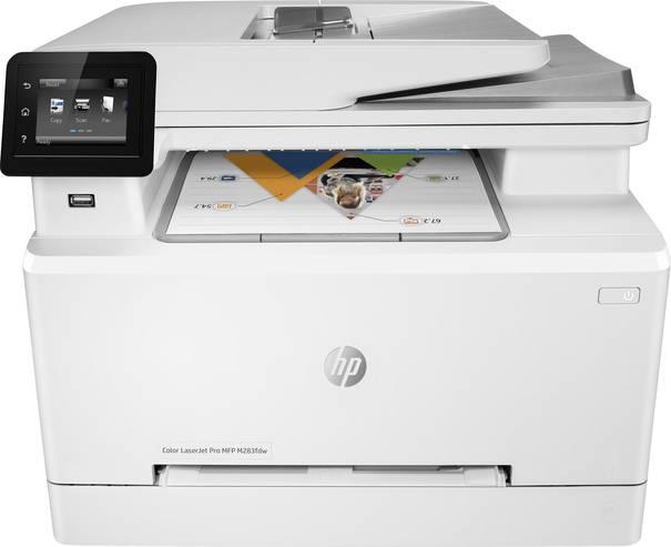 Viele Multifunktionsdrucker lassen sich bequem über ein Touchdisplay bedienen