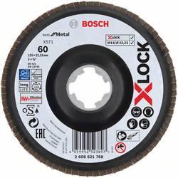 Vejárovitý brúsny kotúč Bosch Accessories X-LOCK 2608621768, Ø 125 mm/