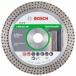 Diamantový rezací kotúč Najlepšie na tvrdú keramiku 76x1,9x10 mm Bosch Accessories 2608615109, Ø 76 mm, 1 ks