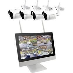 Image of B & S Technology BS WIFI DIY KIT WLAN IP-Überwachungskamera-Set 4-Kanal mit 4 Kameras 1920 x 1080 Pixel