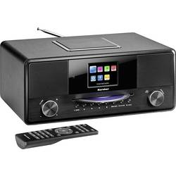 N/A Karcher DAB 9000CDi, Bluetooth, UKW, Wi-Fi, USB, DAB+, DLNA, CD, čierna