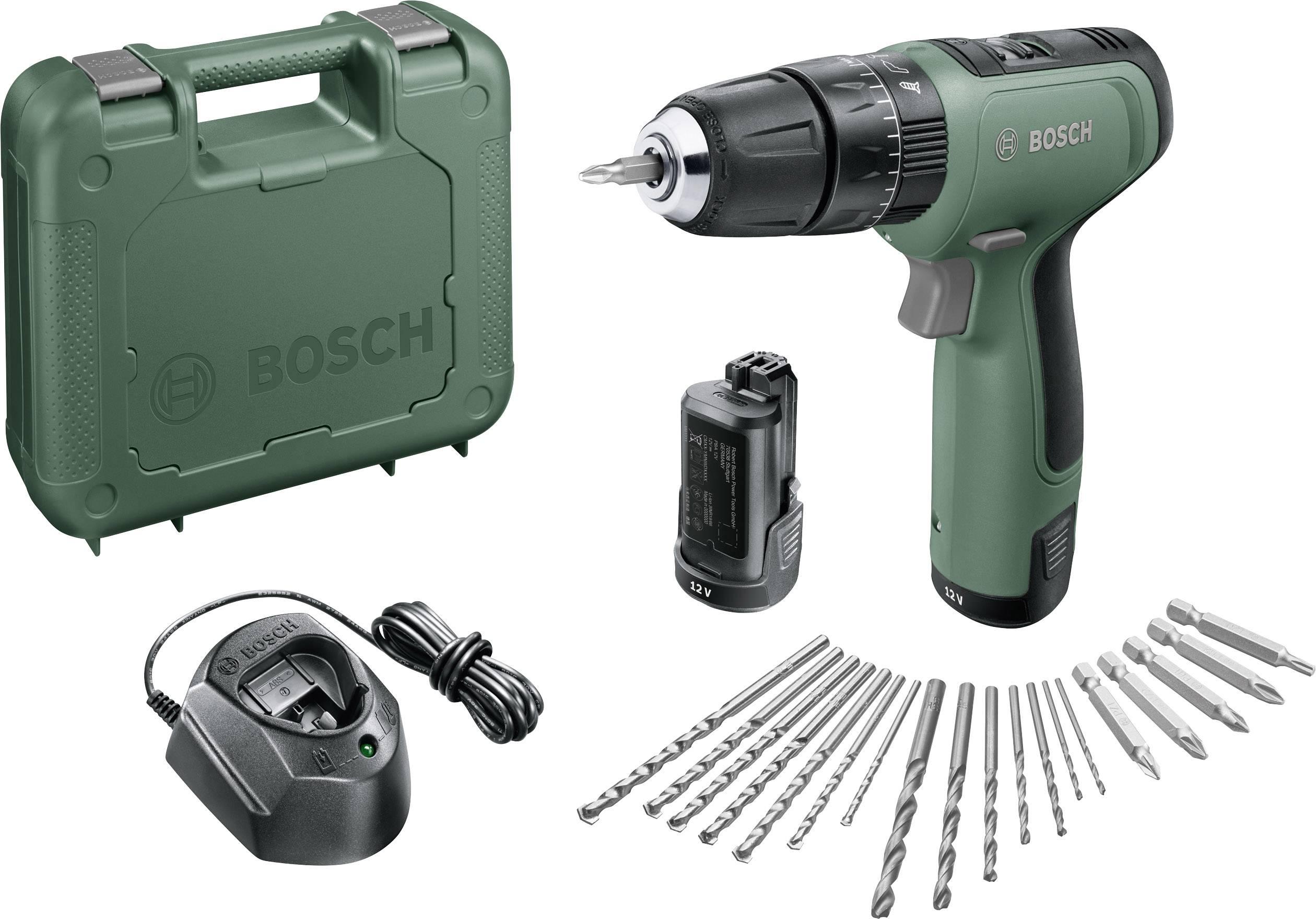 Bosch Home and Garden EasyImpact 1200 2 Gang Akku Schlagbohrschrauber inkl. 2. Akku