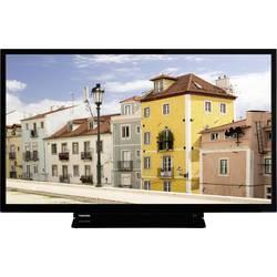 Toshiba 32W3963DA LED TV 80 cm 32 palca en.trieda A + (A +++ - D) DVB-T2, DVB-C, DVB-S, HD ready, Smart TV, WLAN, CI+ čierna