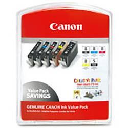 Sada náplní do tlačiarne Canon CLI Value Pack 8 0620B027, čierna, zelená, svetlo azúrová , svetlo purpurová, červená