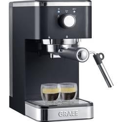 Pákový kávovar Graef Salita, 1400 W, čierna