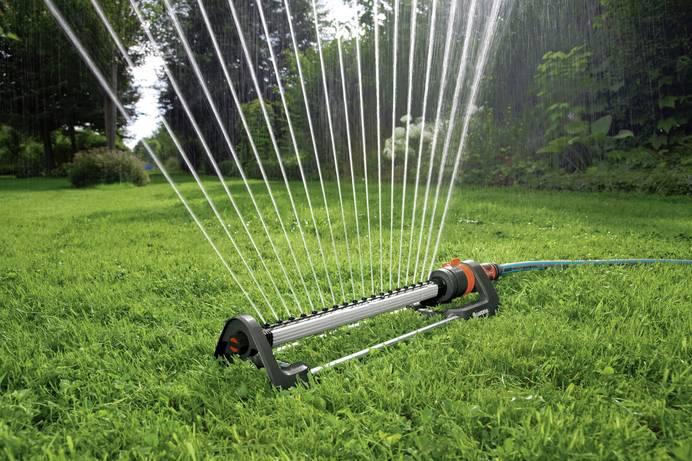 Rasensprenger, Regner und Sprinkler