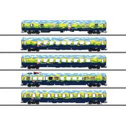 H0 osobný vagón, model Märklin 43879