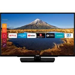 Telefunken D39F502N4CW LED TV 98 cm 39 palca en.trieda A + (A +++ - D) DVB-T2, DVB-C, DVB-S2, Full HD, Smart TV, WLAN, CI+ čierna