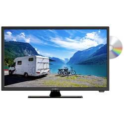 Reflexion LED TV 22 palca CI+, DVB-C, DVB-S2, DVB-T2 HD, PVR ready, DVD-Player, Full HD čierna (lesklá)