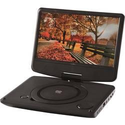 Přenosný DVD přehrávač 9 palec Reflexion s integrovaným DVD přehrávačem černá