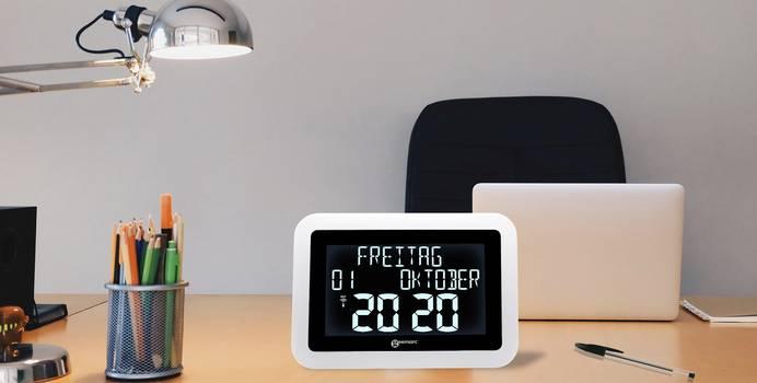 Uhr mit 7-Segment-Anzeige