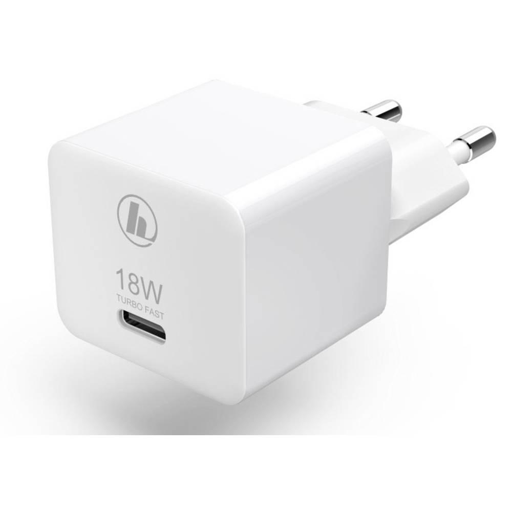 Hama Mini18 00188350 USB-oplader Thuis Uitgangsstroom (max.) 3000 mA 1 x USB-C bus
