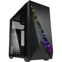 Herné puzdro midi tower Kolink Inspire K2 A-RGB, čierna