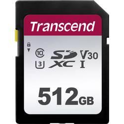 SDXC karta, 512 GB, Transcend Premium 300S, Class 10, UHS-I, UHS-Class 3, v30 Video Speed Class
