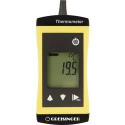 Teplomer Greisinger G1700-WPT3 479637, -200 do +450 °C, Typ senzora Pt1000, Kalibrované podľa: ISO