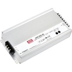 Zabudovateľný zdroj AC/DC Mean Well HEP-600-54, 54 V/DC, 11.2 A, 604.8 W, regulovateľné výstupné napätie