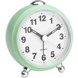 Quartz budík TFA Dostmann Retro 60.1030.04, časov budenia 1, mätová