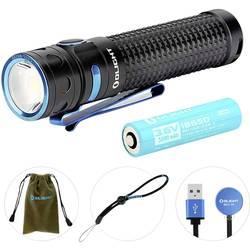 LED vreckové svietidlo (baterka) OLight Baton Pro Baton Pro, 107 g, napájanie z akumulátora, čierna