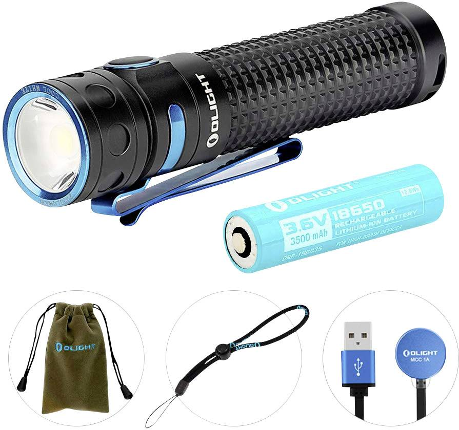 OLight Baton Pro LED Taschenlampe akkubetrieben 2000 lm 540