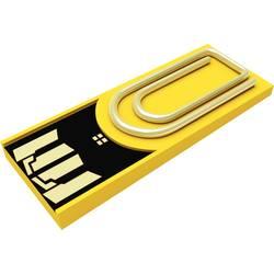 USB flash disk Xlyne Clip/Me Clip/Me, 8 GB, USB 2.0, žltá