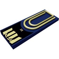 USB flash disk Xlyne Clip/Me Clip/Me, 8 GB, USB 2.0, modrá