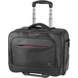 """Kufrík na kolieskach pre notebooky Hama Manchester 00185639 S Max.veľkosť: 39,6 cm (15,6"""") , čierna"""