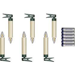 LED bezdrôtové osvetlenie vianočného stromčeka Krinner SuperLight Erweiterungs-Set, vonkajšie/vnútroné 77132, na batérie
