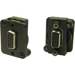 Image of Cliff CP30229BM D-SUB Adapter VGA-Buchse - VGA-Buchse 1 St.