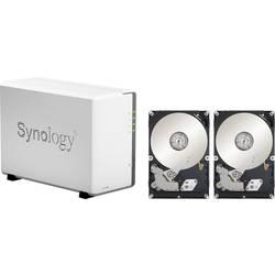 NAS server Synology DiskStation DS220j DS220J-16TB-FR, 16 TB, vybavený 2x 8TB pevným diskom Recertified