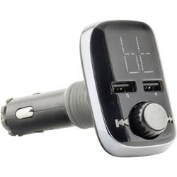 FM vysielač Caliber Audio Technology PMT560BT, vr. handsfree, s MP3 prehrávačom, s diaľk. ovládačom, so slotom na kartu