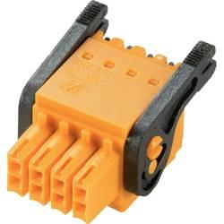 Zásuvkové púzdro na kábel Weidmüller B2CF 3.50/40/180LH SN OR BX 2558730000, 76.9 mm, pólů 40, rozteč 3.5 mm, 24 ks