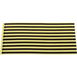 ESD jednorázové zemniace pásky na topánky Quadrios 1903EC041, 10 ks, žltá, čierna