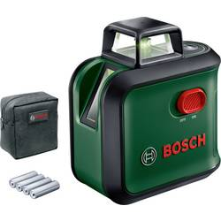 Krížový laser vr. tašky Bosch Home and Garden AdvancedLevel 360, Dosah (max.): 12 m, Kalibrované podľa: bez certifikátu