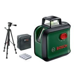 Krížový laser vr. statívu, vr. tašky Bosch Home and Garden AdvancedLevel 360 S, Dosah (max.): 12 m, Kalibrované podľa: bez certifikátu
