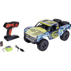 RC model auta pretekársky RC model Short Course Carson Modellsport Amphi Pow.Truck, komutátorový, 1:10, 4WD (4x4), RtR, 20 km/h