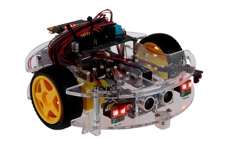 """Joy-it - Roboter Bausatz Micro:Bit """"JoyCar"""" »"""