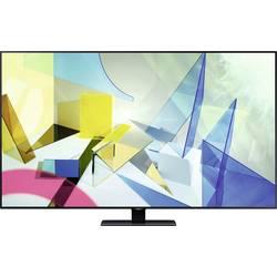 Samsung GQ55Q80 QLED TV 138 cm 55 palca en.trieda B (A +++ - D) Twin DVB-T2/C/S2, UHD, Smart TV, WLAN, PVR ready, CI+ strieborná