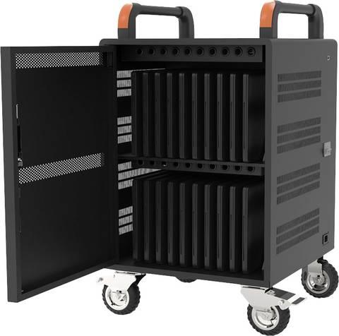 Lade- und Managementsystem Schrank