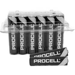 Mikrotužková batérie typu AAA alkalicko-mangánová Duracell Procell Industrial 1.5 V 24 ks