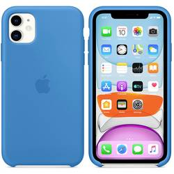 Apple iPhone 11 Silicone Case N/A, surf Blue
