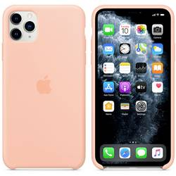 Apple iPhone 11 Max Silicone Case N/A, grapefruit