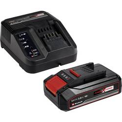 Akumulátor do náradia a nabíjačka, Einhell PXC Starter Kit 18V 2,5Ah Power X-Change 4512097, 18 V, 2.5 Ah, Li-Ion akumulátor